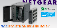 Test du NAS Netgear ReadyNAS Duo RND2150