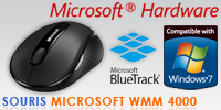 Test de la souris Microsoft Wireless Mobile Mouse 4000 - Article